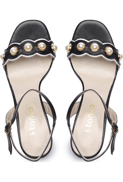 Kemal Tanca Kadın Deri Topuklu Ayakkabı