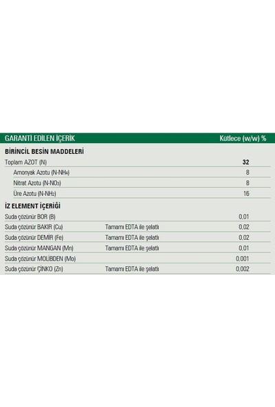 Gübretaş UAN32 Yüksek Azotlu Sıvı Yaprak Gübresi Mikro Element İçerikli 20 lt