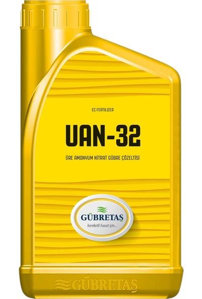Gübretaş UAN32 Yüksek Azotlu Sıvı Yaprak Gübresi Mikro Element İçerikli 1 lt