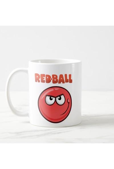 Kuppa Shop Red Ball Kupa Bardak