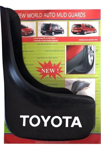 Yeni Dünya Toyota Corolla 1998-2002 4'lü Paçalık Çamurluk Tozluk TYT1UX006