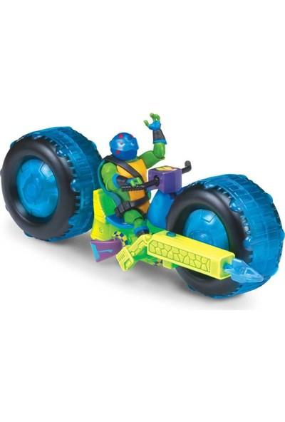 Nickelodeon Ninja Turtles Rotmnt Araç ve Aksiyon Figür Oyun Seti - Donatello