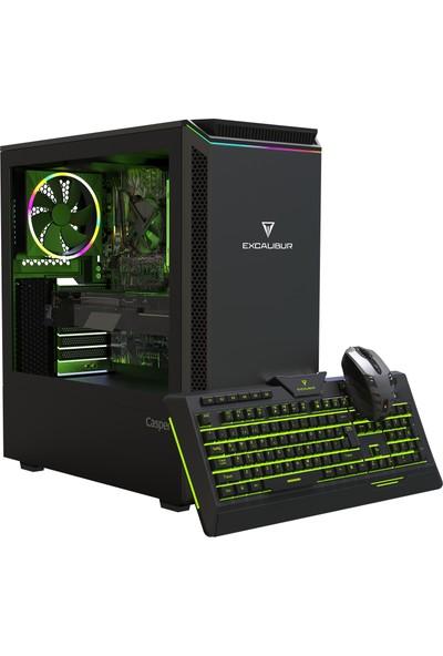 Casper Excalibur E60L. 9100F -A7K0X-V-F Intel Core i3 9100F 12GB 1TB + 1TB SSD GTX1660 Super Freedos Masaüstü Bilgisayar
