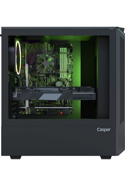 Casper Excalibur E60L.970F-A7K0R-V-F Intel Core i7 9700F 12GB 1TB + 1TB SSD GTX1660 Super Windows 10 Pro Masaüstü Bilgisayar