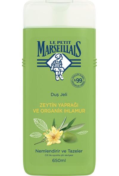 Le Petit Marseillais Banyo ve Duş Jeli Zeytin Ağacı Yaprağı ve Ihlamur 650 ml