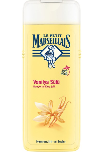 Le Petit Marseillais Duş Jeli Vanilya Sütü 400 ml