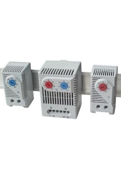 Nexo Isıtma Termostatı Mekanik Kablolu 0 - 60°c