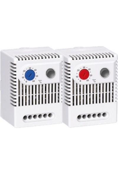 Nexo Ledli Soğutma Termostatı Mekanik Kablolu 0 - 60°c
