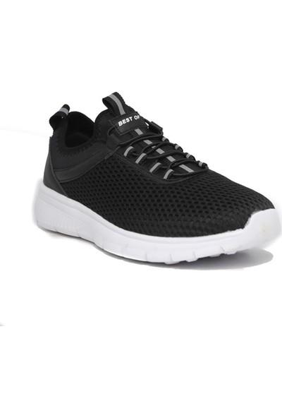Bestof Mrd 059 Anr Siyah Beyaz Ayakkabı