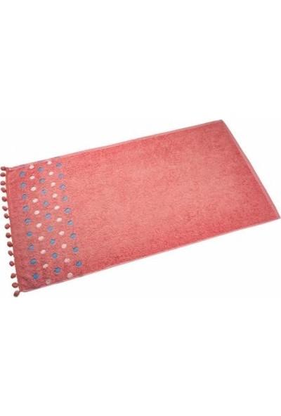 Ladya Ponponlu El Yüz Havlusu 50x90 6'lı Paket