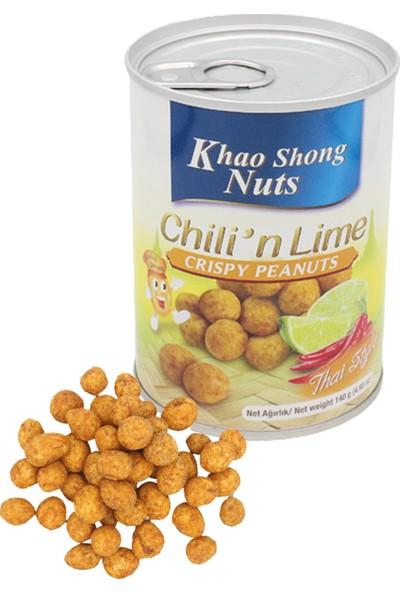 Khao Shong Acıbiber ve Misket Limonu Soslu Çıtır Yer Fıstığı 140 Gr.
