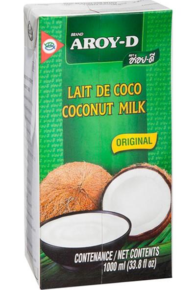 Aroy D Hindistan Cevizi Sütü (Uht) 1000 Ml.