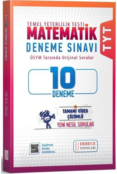 Derece Yayınları TYT Matematik 10'lu Deneme