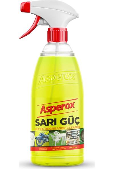 Asperox Sarı Güç Ultra Yağ Çözücü 1 Lt Sprey