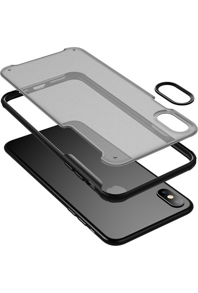 Vendas Apple iPhone XS Max Venga Serisi Premium Kılıf Siyah