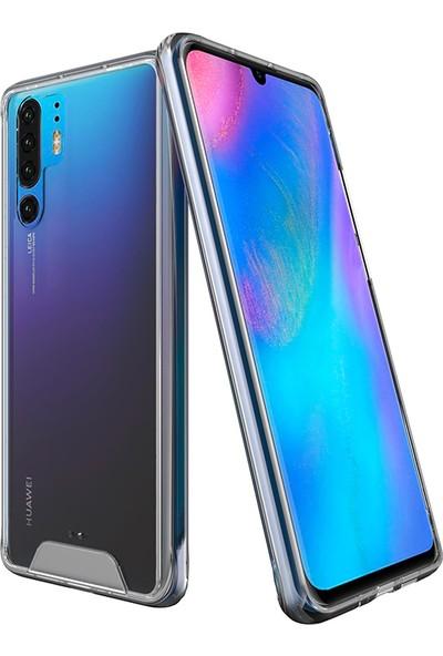 Vendas Huawei P30 Pro Security Serisi Sert Silikon Kılıf Şeffaf