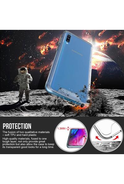 Vendas Samsung Galaxy A70 Security Serisi Sert Silikon Kılıf Şeffaf