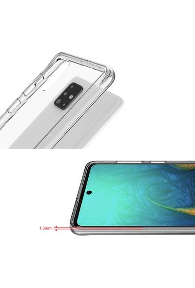 Vendas Samsung Galaxy A71 Security Serisi Sert Silikon Kılıf Şeffaf