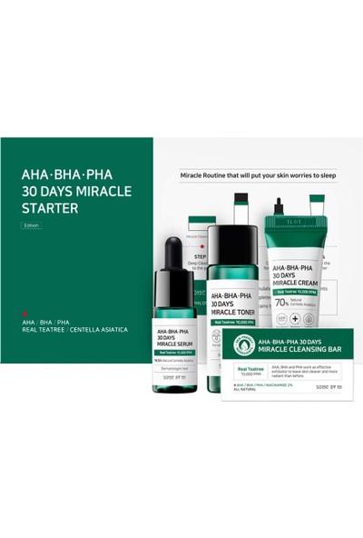 Some By Mi Aha.bha.pha 30 Days Miracle Starter Kit - Özel Tanışma Seti