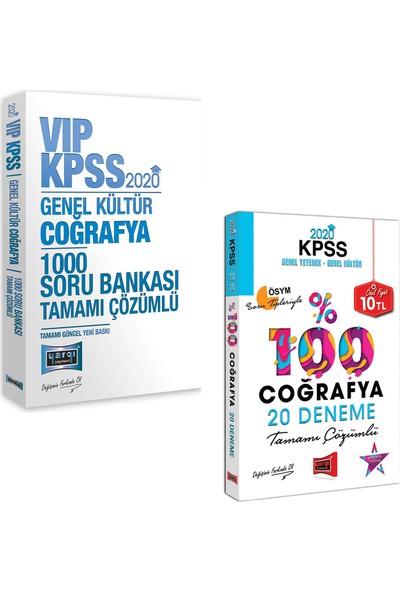 Yargı Yayınevi 2020 KPSS KPSS VIP Coğrafya 1000 Soru Bankası + Coğrafya Tamamı Çözümlü 20 Deneme