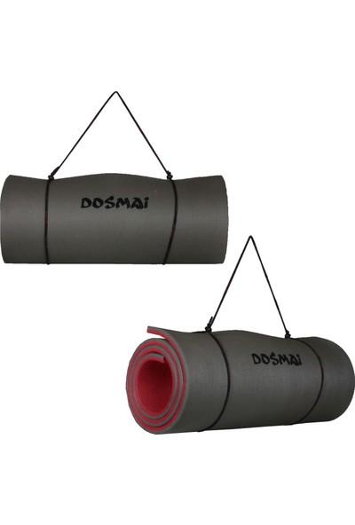 Dosmai Pilates 1 Cmlik Kırmızı Egzersiz Minderi Yoga Mat MN1001