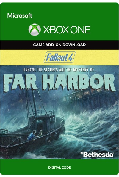Fallout 4: Far Harbor Xbox One Dijital Oyun