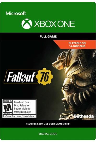 Fallout 76 Xbox One Dijital Oyun