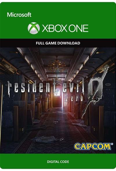 Resident Evil 0 Xbox One Dijital Oyun