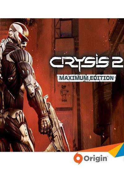 Crysis 2 Maximum Edition Dijital Oyun