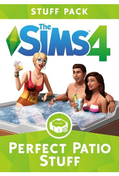 The Sims 4 Perfect Patio Stuff Dijital Oyun