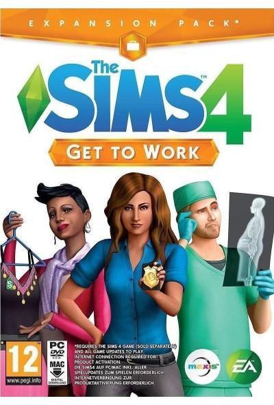 The Sims 4 Get To Work Dijital Oyun