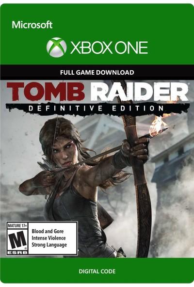Tomb Raider: Definitive Edition Xbox One Dijital Oyun