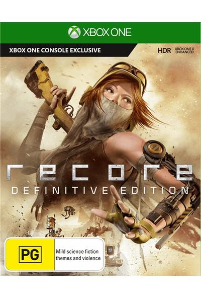 Recore Definitive Edition Xbox One Dijital Oyun