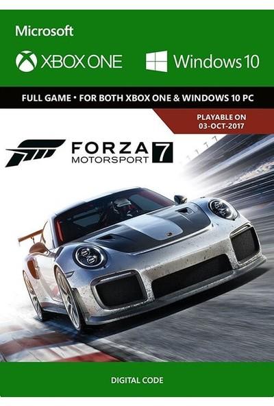 Forza Motorsport 7 Xbox One / Windows 10 Dijital Oyun