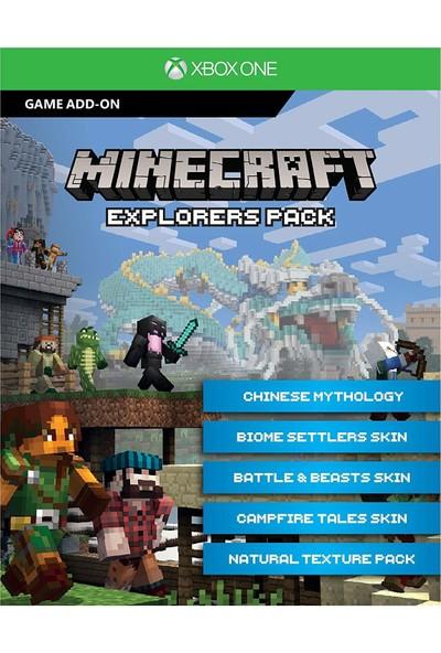 Minecraft + Explorers Pack Xbox One Dijital Oyun