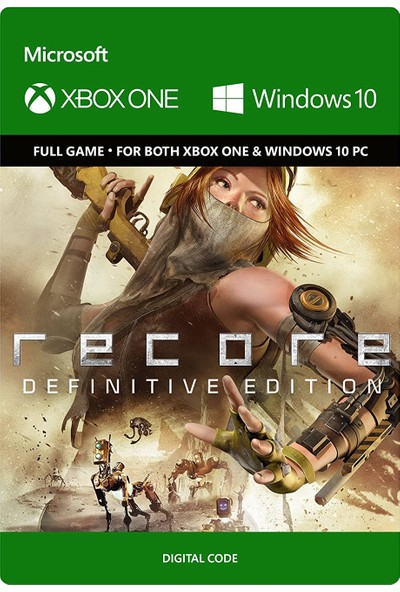 Recore Definitive Edition Xbox One / Windows 10 Dijital Oyun