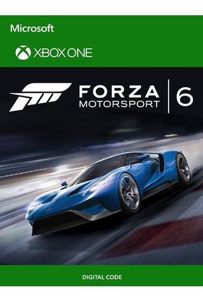 Forza Motorsport 6 Xbox One Dijital Oyun