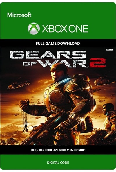 Gears Of War 2 Xbox One Dijital Oyun