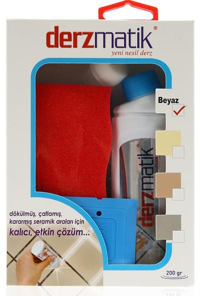 Derzmatik Beyaz Derz Kapatıcı Süngerli Set 41003