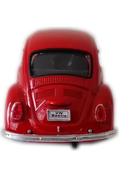 Welly Volkswagen 1967 Classical Beetle 1/32 Çek Bırak Diecast Model Araba