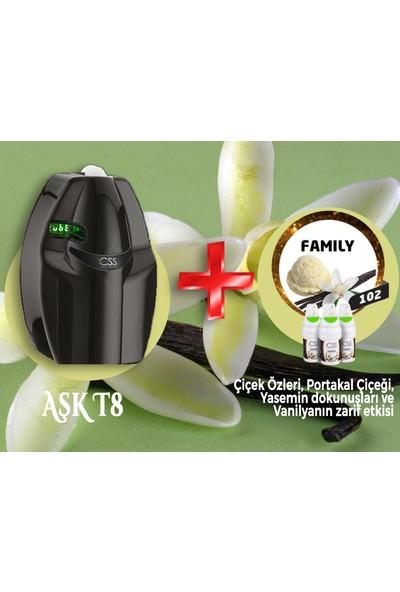 Css T8 400 M2 Kapasiteli Siyah Profesyonel Koku Makinesi&family Koku Kartuşu