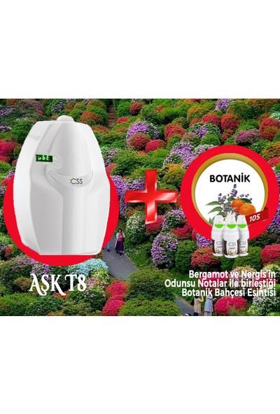 Css T8 400 M2 Kapasiteli Beyaz Profesyonel Koku Makinesi&botanik Koku Kartuşu