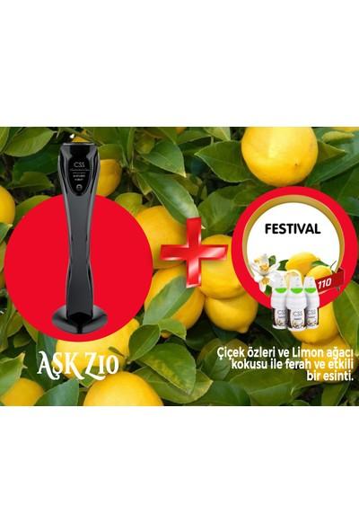 Css Z10 1000 M2 Kapasiteli Siyah Profesyonel Koku Makinesi&festival Koku Kartuşu