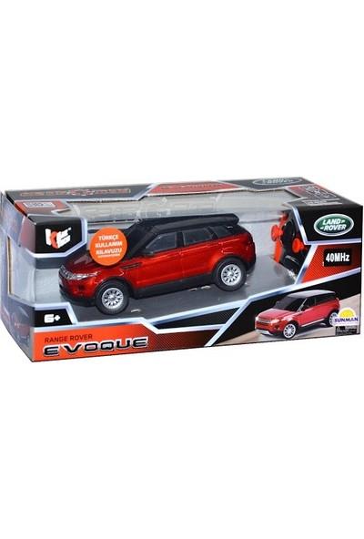Sunman 1:26 Uzaktan Kumandalı Range Rover Evo Araba Bordo