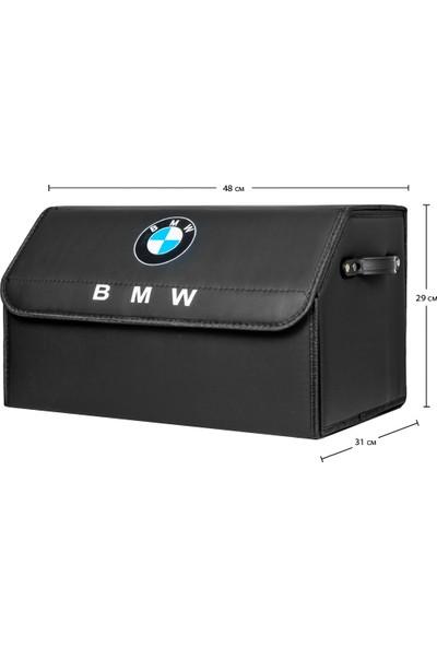 Dekohop BMW Uyumlu Oto Bagaj Organizeri Deri Bagaj Kutu Çanta