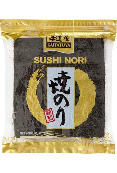 Kaitatuya Sushi Nori Gold Yaprak Yosun 50'li