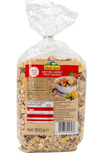 Mestemacher Form Paketi Meyveli Müsli 5 Meyveli, Tam Tahıllı Çavdar Ekmeği, Protein Ekmeği