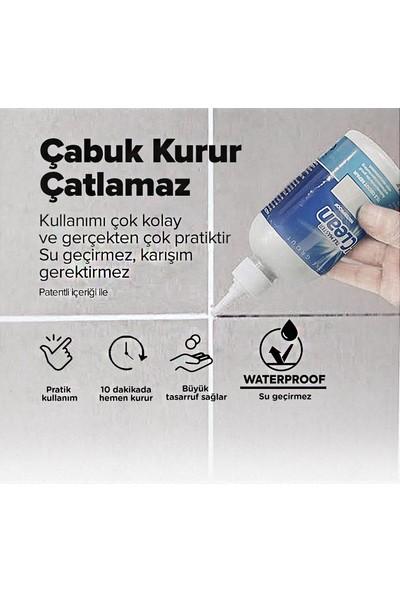 N'Clean Tile Master Silikonlu Derz Dolgusu Krem 225 ml 2'li