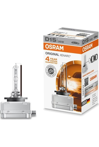 Osram D1S Xenon Zenon Far Ampülü Xenarc 1 Adet