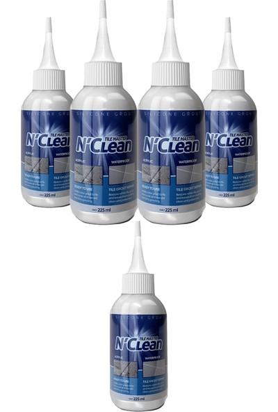 N'Clean Tile Master Silikonlu Derz Dolgusu Beyaz 225 ml 4 + 1